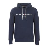 Textil Muži Mikiny Tommy Hilfiger TOMMY LOGO HOODY Tmavě modrá