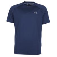 Textil Muži Trička s krátkým rukávem Under Armour TECH 2.0 SS TEE Tmavě modrá