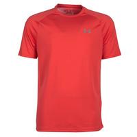 Textil Muži Trička s krátkým rukávem Under Armour TECH 2.0 SS TEE Červená