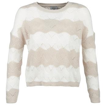 Textil Ženy Svetry Only ONLKARO Béžová / Krémově bílá