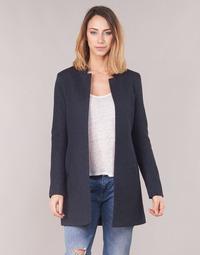 Textil Ženy Kabáty Only ONLSOHO Tmavě modrá