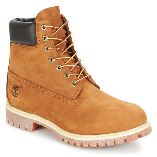 Boty Muži Kotníkové boty Timberland 6 IN PREMIUM BOOT Béžová