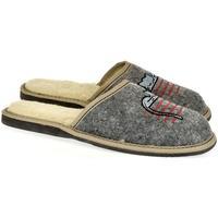 Boty Ženy Papuče John-C Dámske sivé papuče TOMCAT sivá