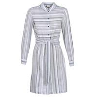 Textil Ženy Krátké šaty Vila VINAVIDA Bílá / Modrá