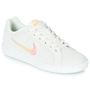 Boty Ženy Nízké tenisky Nike COURT ROYALE PREMIUM W Bílá / Oranžová