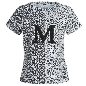 Textil Ženy Trička s krátkým rukávem Marciano RUNNING WILD Černá / Bílá