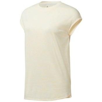 Textil Ženy Trička s krátkým rukávem Reebok Sport EL Marble Tee Béžové