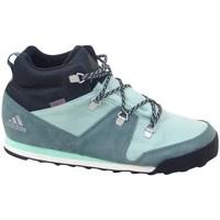 Boty Děti Kotníkové tenisky adidas Originals CW Snowpitch K Zelené