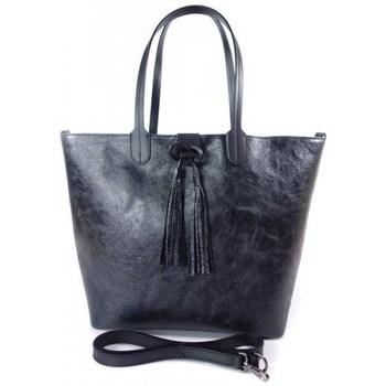 Taška Ženy Velké kabelky / Nákupní tašky Vera Pelle SB599N Černé