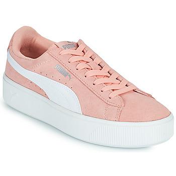Boty Ženy Nízké tenisky Puma VIKKY STACK PEA Růžová