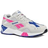Boty Ženy Šněrovací polobotky  & Šněrovací společenská obuv Reebok Sport Aztrek Šedé, Růžové