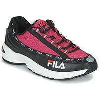 Boty Ženy Nízké tenisky Fila DSTR97 Černá / Růžová