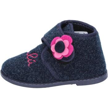 Boty Dívčí Papuče Lulu Bačkory BS29 Modrý