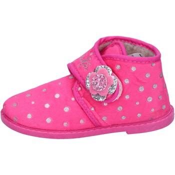 Boty Dívčí Papuče Lulu BS44 Růžová