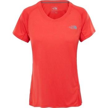Textil Ženy Trička s krátkým rukávem The North Face Tshirt Ambition Oranžové