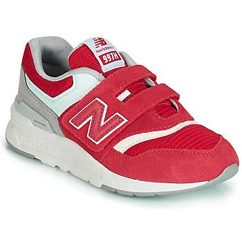 Boty Děti Nízké tenisky New Balance 997 Červená