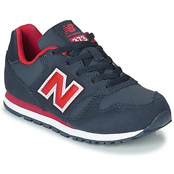 Boty Děti Nízké tenisky New Balance 373 Modrá / Červená