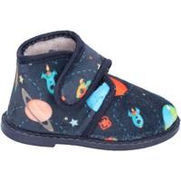 Boty Chlapecké Papuče Blaike Bačkory BS50 Modrý