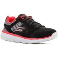 Boty Děti Běžecké / Krosové boty Skechers Go Run 400 97681L-BGRD black, red, grey