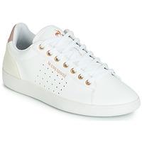 Boty Ženy Nízké tenisky Le Coq Sportif COURTSTAR W BOUTIQUE Bílá / Růžová