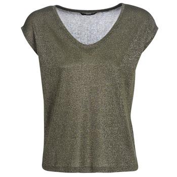 Textil Ženy Trička s krátkým rukávem Only ONLSILVERY Khaki