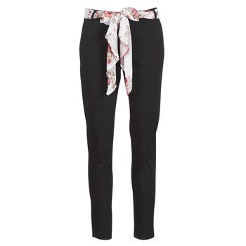 Textil Ženy Kapsáčové kalhoty Betty London MIRABINE Černá
