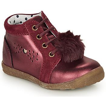 Boty Dívčí Kotníkové boty Catimini CALISTA Bordó