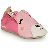 Boty Dívčí Papuče Catimini CAPUCINE Růžová