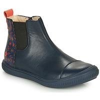 Boty Dívčí Kotníkové boty GBB ONAO Modrá