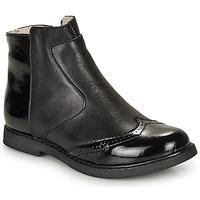 Boty Dívčí Kotníkové boty GBB OURIETTE Černá