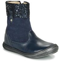 Boty Dívčí Kotníkové boty GBB ORANTO Tmavě modrá