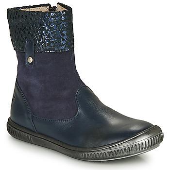 Boty Dívčí Kotníkové boty GBB ORANTO Modrá