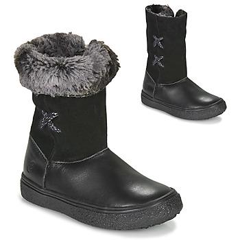 Boty Dívčí Kotníkové boty GBB OLINETTE Černá