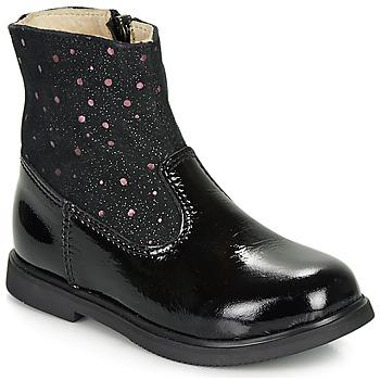 Boty Dívčí Kotníkové boty GBB OSHINO Černá