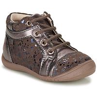 Boty Dívčí Kotníkové boty GBB OMANE Béžová