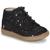Boty Dívčí Kotníkové boty GBB NINON Černá / Růžová