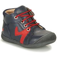 Boty Chlapecké Kotníkové boty GBB OVELO Tmavě modrá / Červená