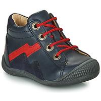 Boty Chlapecké Kotníkové boty GBB ORAM Tmavě modrá / Červená