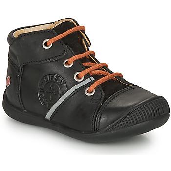 Boty Chlapecké Kotníkové boty GBB OULOU Černá