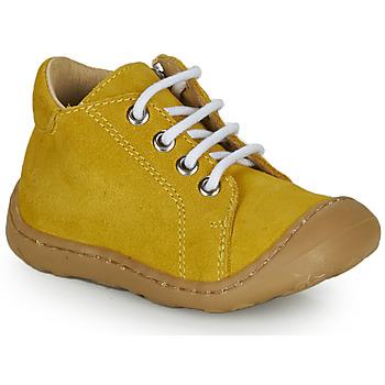 Boty Chlapecké Kotníkové tenisky GBB FREDDO Žlutá