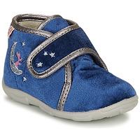 Boty Dívčí Papuče GBB OCELINA Modrá