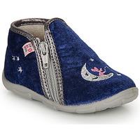 Boty Dívčí Papuče GBB OLILE Modrá