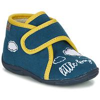 Boty Chlapecké Papuče GBB OKANDI Modrá / Žlutá