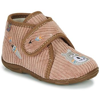 Boty Chlapecké Papuče GBB OKANDI Hnědá