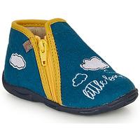 Boty Chlapecké Papuče GBB OUBIRO Modrá / Žlutá