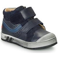 Boty Chlapecké Kotníkové tenisky GBB OMALLO Tmavě modrá