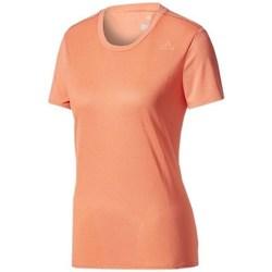 Textil Ženy Trička s krátkým rukávem adidas Originals SN SS Tee W Oranžové
