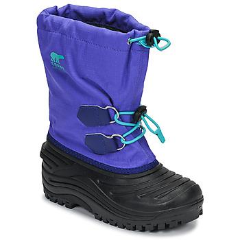 Boty Děti Zimní boty Sorel YOUTH SUPER TROOPER™ Modrá