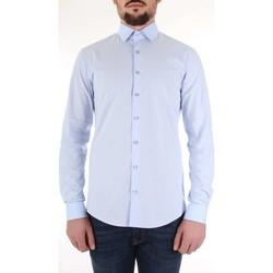 Textil Muži Košile s dlouhymi rukávy Calvin Klein Jeans K10K103170 Modrá