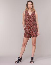 Textil Ženy Overaly / Kalhoty s laclem Moony Mood KETTELLE Červená